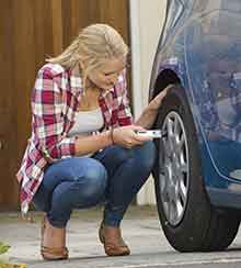 Check Your Tire Pressure Monthly